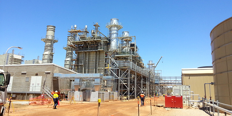 Diamantina Power Station QLD