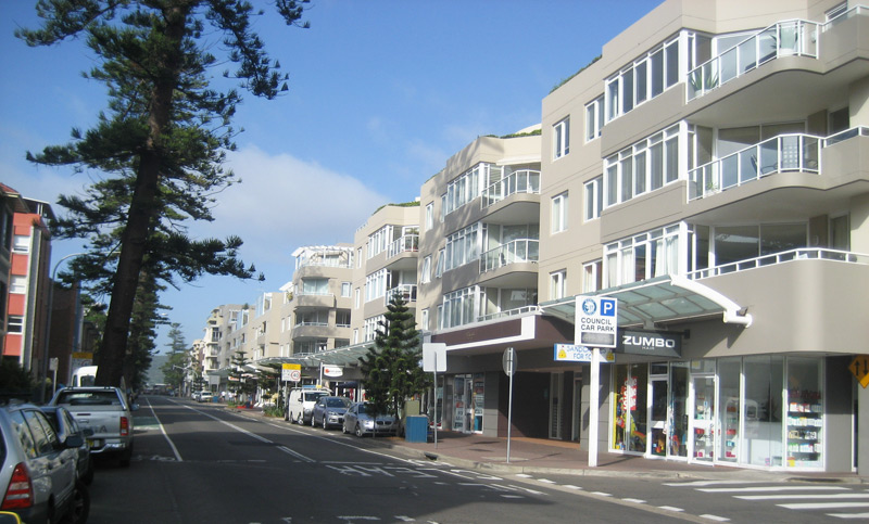 wentworth st Manly